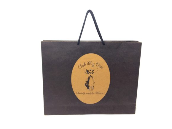 Black Kraft Paper Bag Kuwait