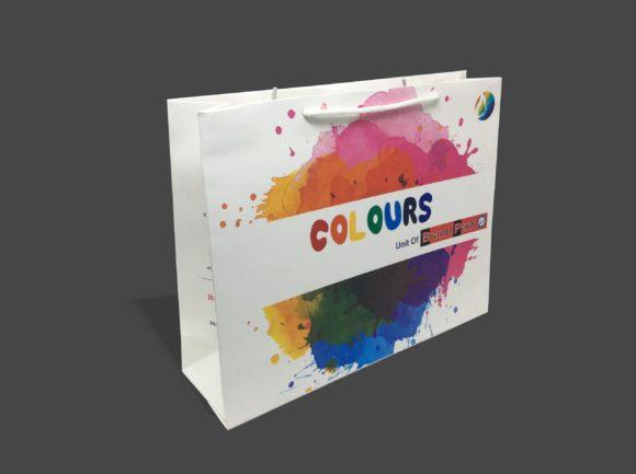 Multi Color Paper Bag
