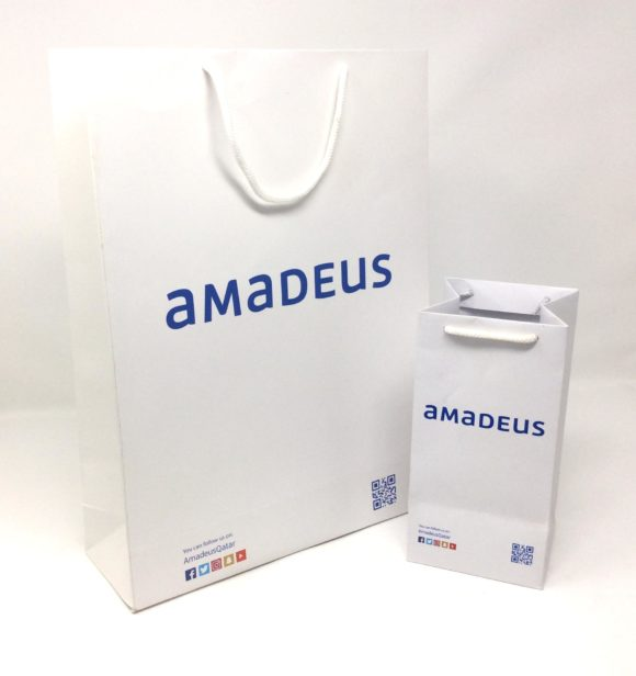 Corporate Bags for Amadeus Qatar
