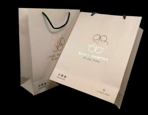Gold Foiled Paper Bag