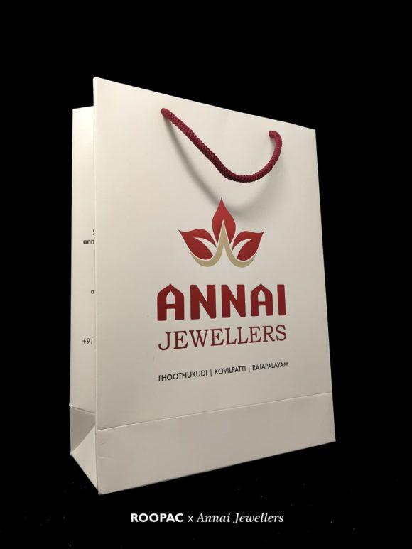 Annai Jewellers paper bags