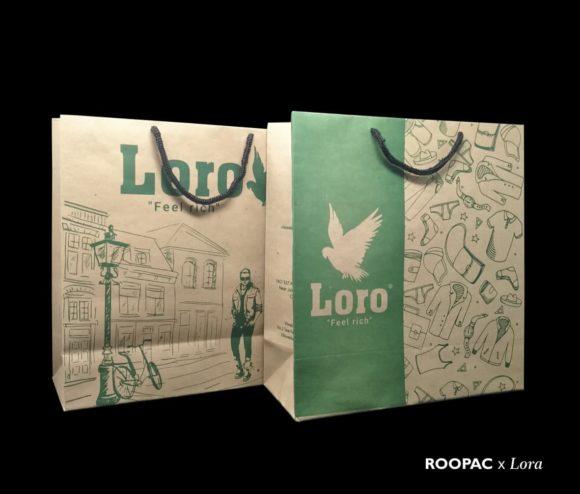 clothing store paper bags villivakkam
