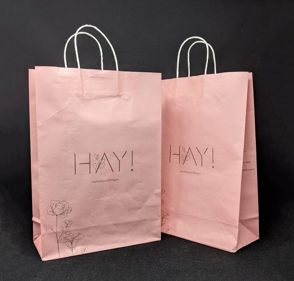 Women's boutique store new packaging
