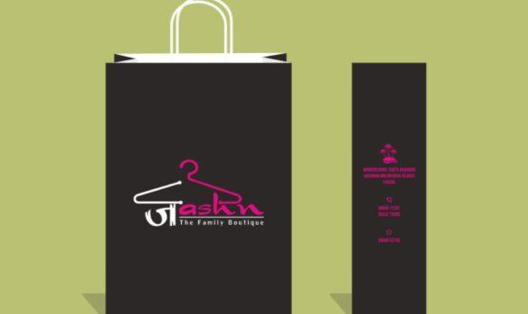 Clothing boutique Andaman Paper bags Jashn