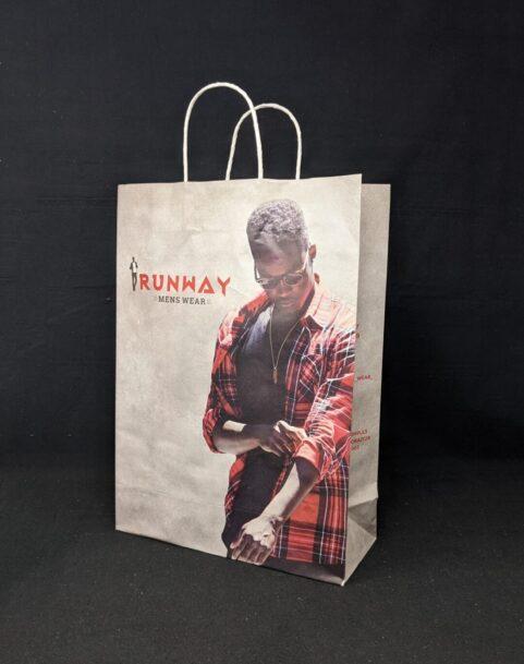 Branded Trichy mens showroom Paper bags