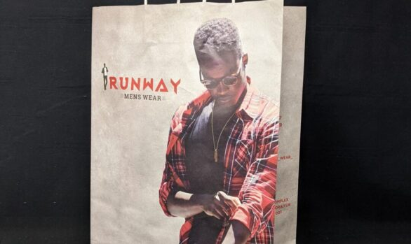 Branded Trichy mens showroom Paper bags